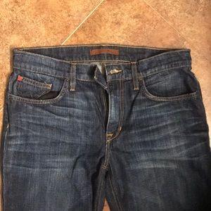 Men's New 33x34 bootcut Joe's jeans